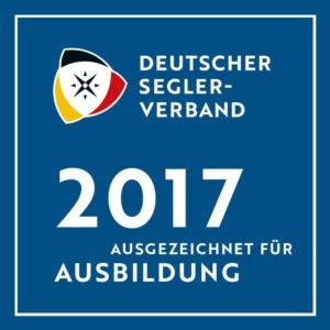 2017 Ausgezeichnet für Ausbildung DSV