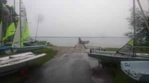 Verregnetes Segelwochenende am Wittensee