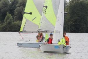 Fevas auf dem See beim FP19