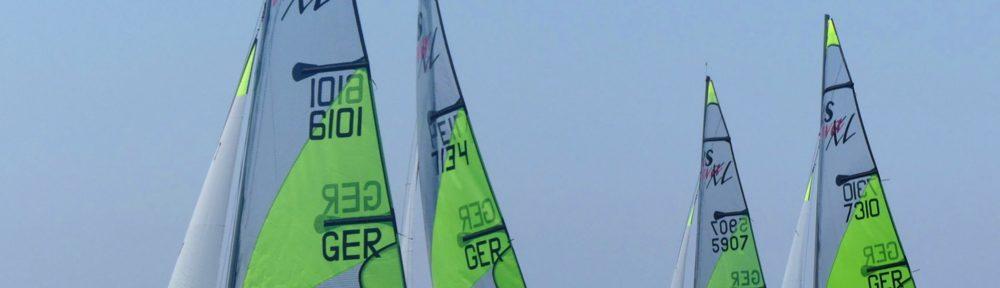Deutsche Segler auf dem Wasser bei der WM in Italien 2019